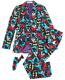 OppoSuits Little Boys 3-Pc. The Dark Knight™ Suit & Tie Set
