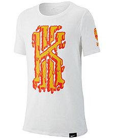 Nike Big Boys Kyrie-Print T-Shirt