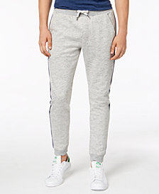 American Rag Men's Varsity Tipped Jogger Pants, Created for Macy's