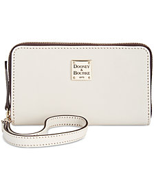 Dooney & Bourke Beacon Zip Around Wristlet