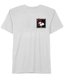 Hybrid Men's Snoopy Bad King Graphic T-Shirt