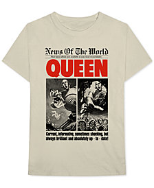 Queen Men's News Of The World Graphic T-Shirt