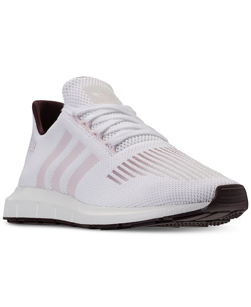 1f17f5266 adidas Women s Swift Run Casual Sneakers from Finish Line   Reviews ...