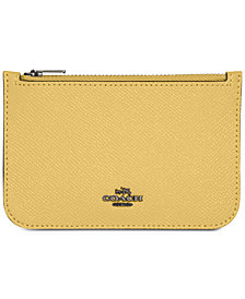 COACH Zip Card Case