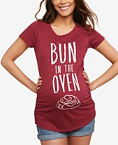 8605a6a39311c Graphic Tee Maternity Clothes For The Stylish Mom - Macy s
