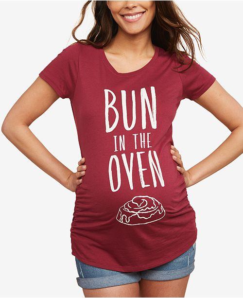 Motherhood Maternity Bun In The Oven™ Maternity Tee
