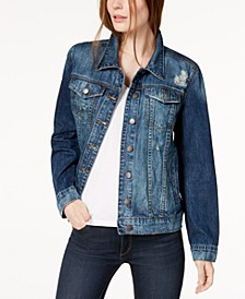 Cotton Boyfriend Denim Jacket