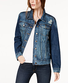 STS Blue Cotton Boyfriend Denim Jacket