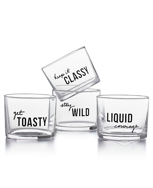 The Cellar CLOSEOUT! Set of 4 Tumblers, Created for Macy's