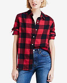 Levi's® Ultimate Boyfriend Cotton Button-Detail Shirt