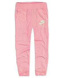 Nike Toddler Girls Logo Graphic-Print Joggers