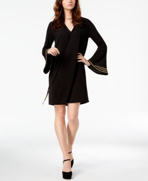 Michael Michael Kors Bell-Sleeve Tunic Dress 6620756