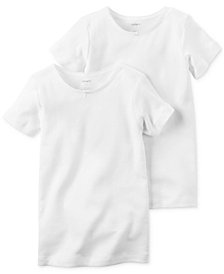 Carter's Toddler, Little & Big Girls 2-Pk. Cotton T-Shirts