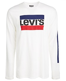 Levi's® Men's Graphic-Print Long Sleeved T-Shirt
