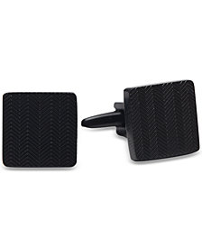 Kenneth Cole Reaction Men's Herringbone-Textured Cuff Links