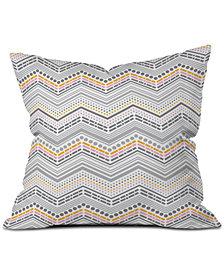 Deny Designs Heather Dutton Dash And Dot Neapolitan Throw Pillow