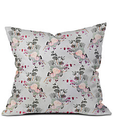 Deny Designs Iveta Abolina Rose Blush Throw Pillow