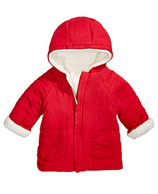 First Impressions Baby Boys & Girls Hooded Reversible Jacket, Created for Macy's