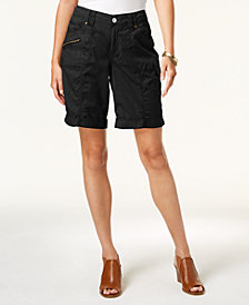 Style & Co Cuffed Cargo Shorts, Created for Macy's