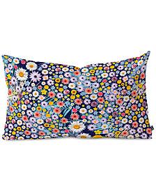Deny Designs Iveta Abolina Flower Power II Oblong Throw Pillow