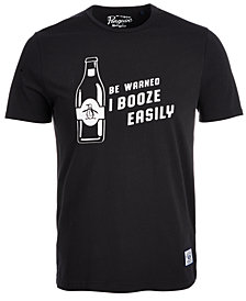 Original Penguin Men's I Booze Easily T-Shirt, Created for Macy's