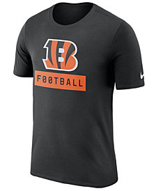 Nike Men's Cincinnati Bengals Legend Football Equipment T-Shirt