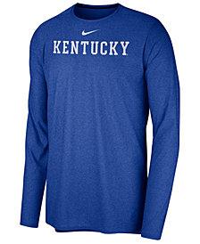 Nike Men's Kentucky Wildcats Long Sleeve Player T-shirt