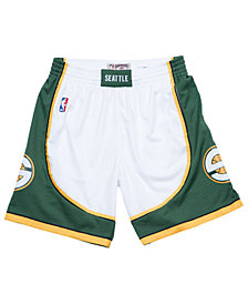 Mitchell & Ness Men's Seattle SuperSonics Swingman Shorts