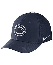 Nike Penn State Nittany Lions Col Aro Swooshflex Stretch Fitted Cap