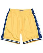 0042f790020 Mitchell & Ness Men's Golden State Warriors Swingman Shorts