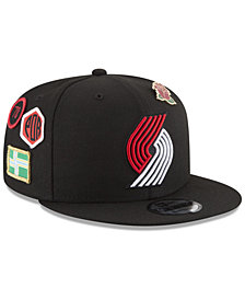 New Era Boys' Portland Trail Blazers On-Court Collection 9FIFTY Snapback Cap