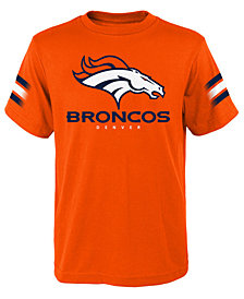 Outerstuff Denver Broncos Goal Line T-Shirt, Big Boys (8-20)