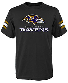 Outerstuff Baltimore Ravens Goal Line T-Shirt, Big Boys (8-20)
