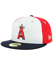 New Era Los Angeles Angels All Star Game Patch 59FIFTY FITTED Cap