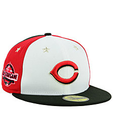 New Era Boys' Cincinnati Reds All Star Game w/Patch 59FIFTY FITTED Cap