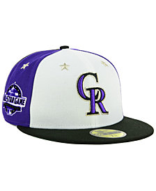 New Era Boys' Colorado Rockies All Star Game w/Patch 59FIFTY FITTED Cap