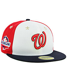 New Era Boys' Washington Nationals All Star Game w/Patch 59FIFTY FITTED Cap