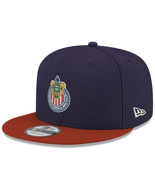 New Era Chivas Liga MX 9FIFTY Snapback Cap - Sports Fan Shop By Lids ... 203f7c9b0eb