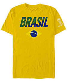 Fifth Sun Men's Brazil National Team Gym Wedge World Cup T-Shirt