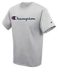 Champion Men's Script Logo T-Shirt