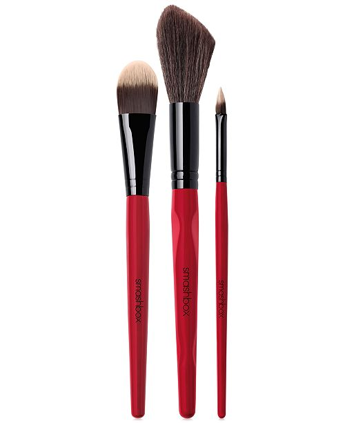 Smashbox 3-Pc. Camera Ready Complexion Brush Set, Created For Macy's