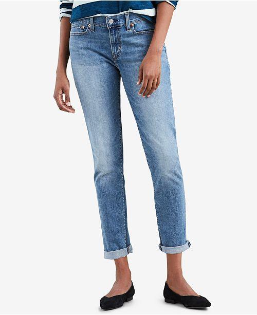 4caf8280 Levi's New Boyfriend Jeans & Reviews - Jeans - Women - Macy's