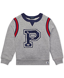 Polo Ralph Lauren Big Boys French Terry Cotton Sweatshirt