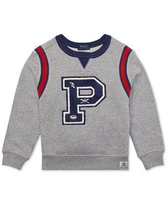 Polo Ralph Lauren Big Boys French Terry Cotton Sweatshirt Sweaters