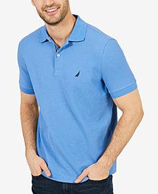 Nautica Men's Solid Slim Fit Polo