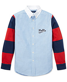 Polo Ralph Lauren Big Boys Cotton Oxford Shirt