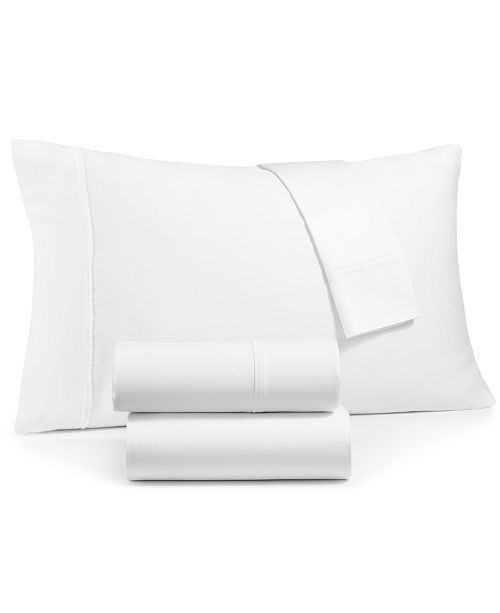 Sunham CLOSEOUT! Emory 4-Pc. California King Sheet Set, 420 Thread Count Egyptian Blend