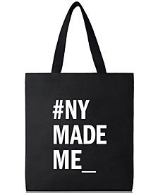 Receive a Complimentary tote with a large spray purchase from the DKNY Stories fragrance collection