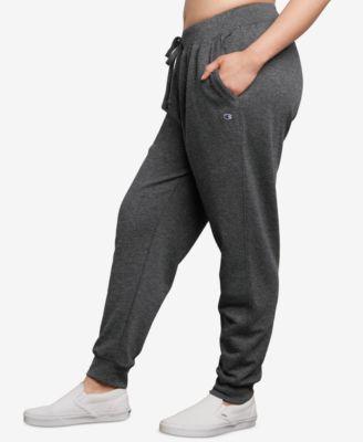 Champion Womens Plus-Size Powerblend Jogger Sweatpants