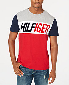 Tommy Hilfiger Men's Flocked Highlands T-Shirt